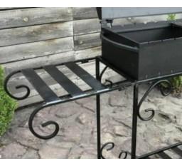 Съемный боковой столик для мангалов