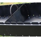 Мангал с крышей , 4 мм, 12 шампуров